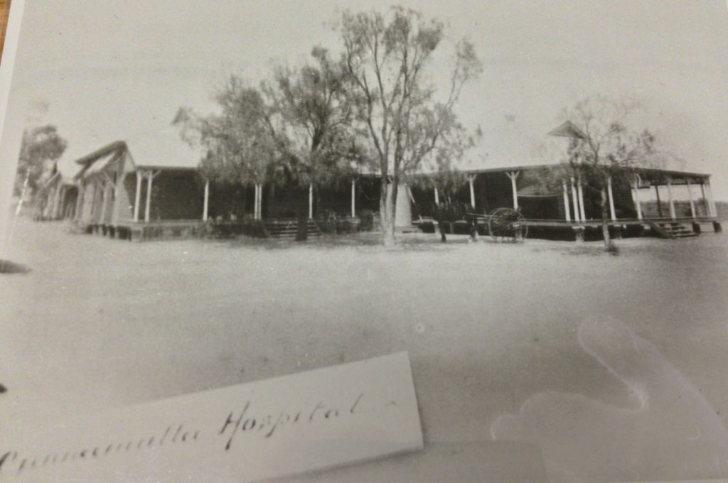 Cunnamulla first hospital built by Alexander Albion