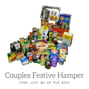 couples food hampers