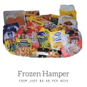 frozen food hampers