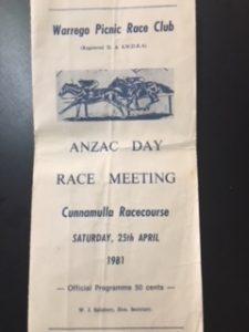 Cunnamulla Anzac Day