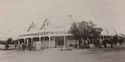 Club Boutique Hotel 1900 after being rebuilt following the cyclone in 1892