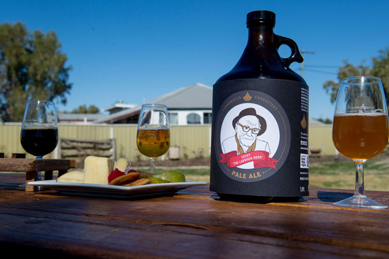 Cocky Easton Larrakin War Hero Racehorse trainer Cunnamulla Characters Brewed Club Boutique Hotel Cunnamulla Craft Beer
