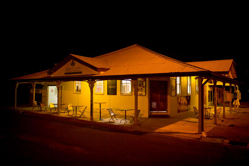 Club Boutique Hotel Cunnamulla Restaurant dining