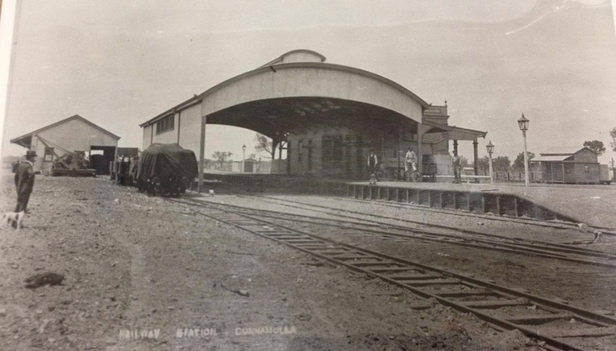 Cunnamulla Railway Station