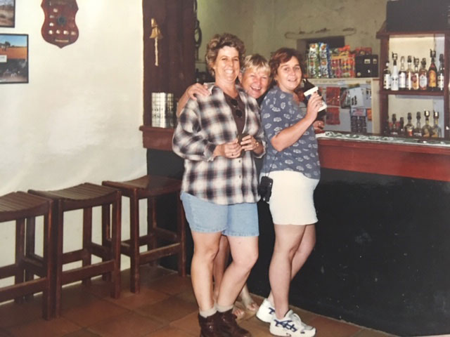 Trip to Cooper Creek and Hungerford Noccundra Hotel Lesley June Evert Leanne Burke